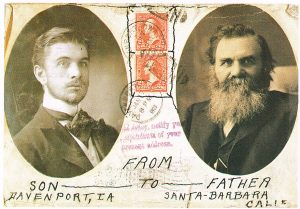 B.J. Palmer and D.D. Palmer, the originators of the philosophy of chiropractic.